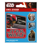 Star Wars Episode VII Vinyl Sticker Pack (5) Resistance
