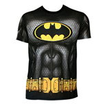 T-Shirt Batman mit Kapuze