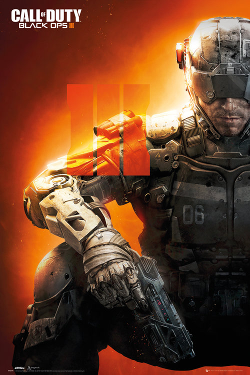 Poster Call Of Duty Black Ops 3