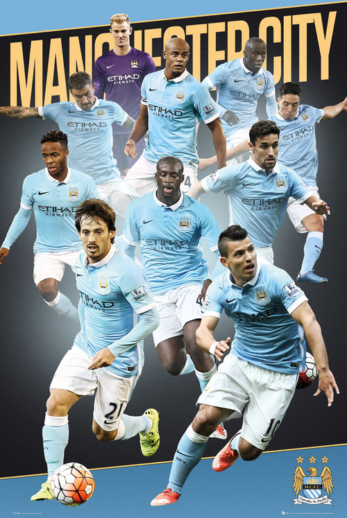 Poster Manchester City FC 175901