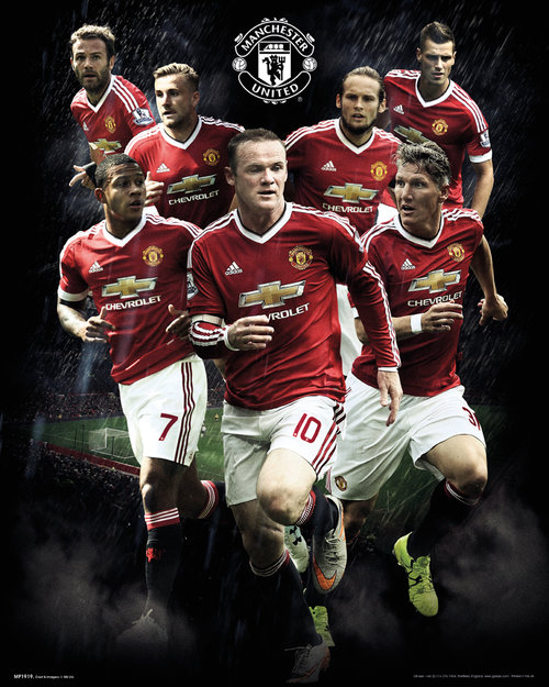 Poster Manchester United FC 175907