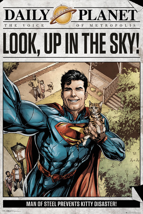 Poster Superman Daily Planet