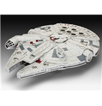 Star Wars Episode VII Build & Play Modellbausatz mit Sound & Leuchtfunktion Millennium Falcon 20 cm