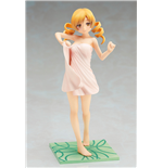 Puella Magi Madoka Magica The Movie Rebellion PVC Statue 1/8 Mami Tomoe Bath Towel Ver. 19 cm