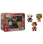 Horror Pocket POP! Tins Figuren Dreierpack Jason Voorhees, Freddy Krueger & Sam 4 cm