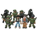 Aliens Minimates Actionfiguren 5 cm Doppelpacks Serie 1 Sortiment (12)