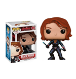 Avengers Age of Ultron POP! Vinyl Wackelkopf-Figur Black Widow 10 cm