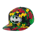 Batman Snap Back Hip Hop Cap Flower Print