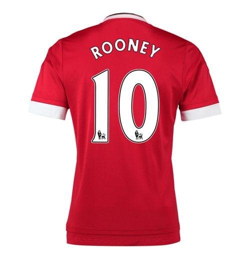 Trikot Manchester United FC 2015-2016 Home (Rooney 10) fur Kinder
