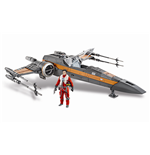 Star Wars Episode VII Class III Fahrzeug mit Figur 2015 Poe's X-Wing Fighter