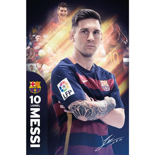 Poster FC Barcelona Messi 30