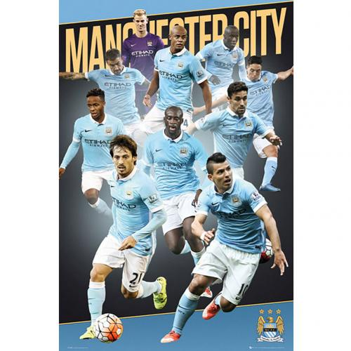 Poster Manchester City FC 176989