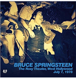 Vinyl Bruce Springsteen - The Roxy Theater West Hollywood July 7 1978 (4 Lp)