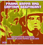 Vinyl Frank Zappa & Captain Beefheart - Live At Providence College Ri April 26 1975 (3 Lp)
