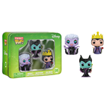 Disney Pocket POP! Vinyl Figuren 3er-Pack Tin Maleficent, Ursula, Evil Queen 4 cm