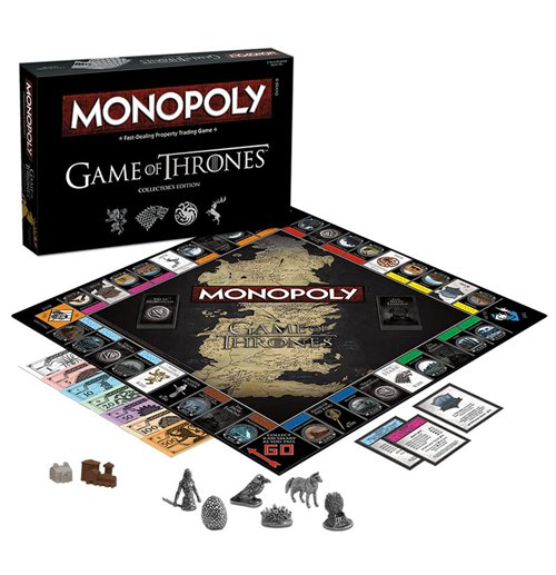 Game of Thrones Brettspiel Monopoly Collectors Edition *Englische Version*