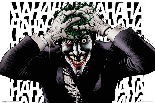 Poster Superhelden DC Comics Killing Joke