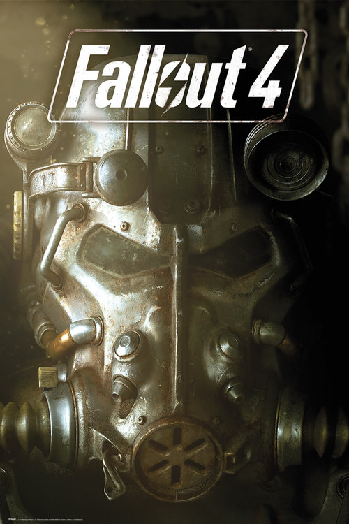 Poster Fallout 4 Mask