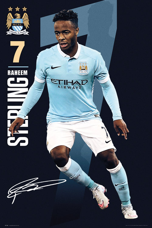 Poster Manchester City FC 177443