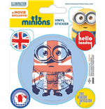 Minions Vinyl Sticker Pack (10) London