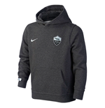 Sweatshirt AS Roma 2015-2016 (Schwarz)