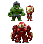 Avengers Age of Ultron Cosbaby (S) Minifiguren Serie 1.5 Box Set 14 cm