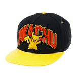 Pokemon Snap Back Hip Hop Cap Pikachu