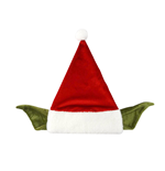 Star Wars Hut Yoda Santa Claus