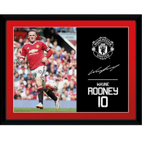 Foto Manchester United FC Rooney 40 x 30 cm