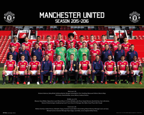 Poster Manchester United FC 179633