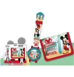 Geschenkset: Uhr Mickey Mouse + Tasche Mickey Mouse