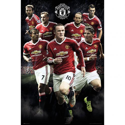 Poster Manchester United Players 114