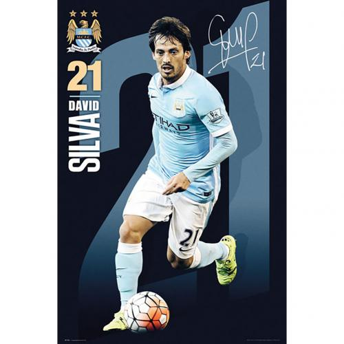 Poster Manchester City FC 180402