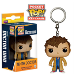 Doctor Who POP! Vinyl Schlüsselanhänger 10th Doctor 4 cm