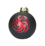 Game of Thrones Glas-Christbaumschmuck Targaryen