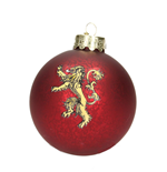 Game of Thrones Glas-Christbaumschmuck Lannister