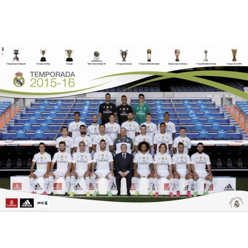 Poster Real Madrid Squad 66