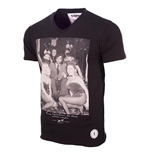 T-Shirt George Best (Schwarz)