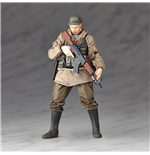Metal Gear Solid V The Phantom Pain Actionfigur Micro Yamaguchi rmex-002 Soviet Army Soldier 13 cm