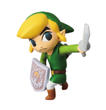 Nintendo UDF Serie 1 Minifgur Link (The Legend of Zelda: The Wind Waker) 6 cm