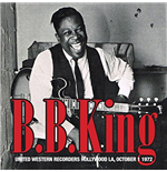 Vinyl B.B. King - United Western Recorders Hollywood La, October 1 1972 (2 Lp)
