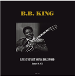 Vinyl B.B. King - Live At Sunset Sound  Hollywood  Ca January 10  1972 (2 Lp)