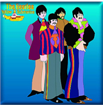 Magnet Beatles 182264