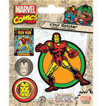 Marvel Comics Vinyl Sticker Pack Iron Man (10)