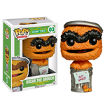 Sesamstrasse POP! TV Vinyl Figur Oscar Orange Limited Edition 9 cm