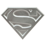 Superman The Animated Series Flaschenöffner Logo 10 cm