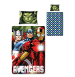 The Avengers Wende-Bettwäsche Shield 135 x 200 cm / 48 x 74 cm