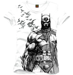 T-Shirt Batman - Bat Fly White