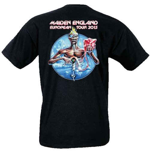 T-Shirt Iron Maiden 183775