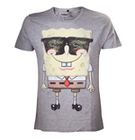 T-Shirt SpongeBob - Grey Sunglasses